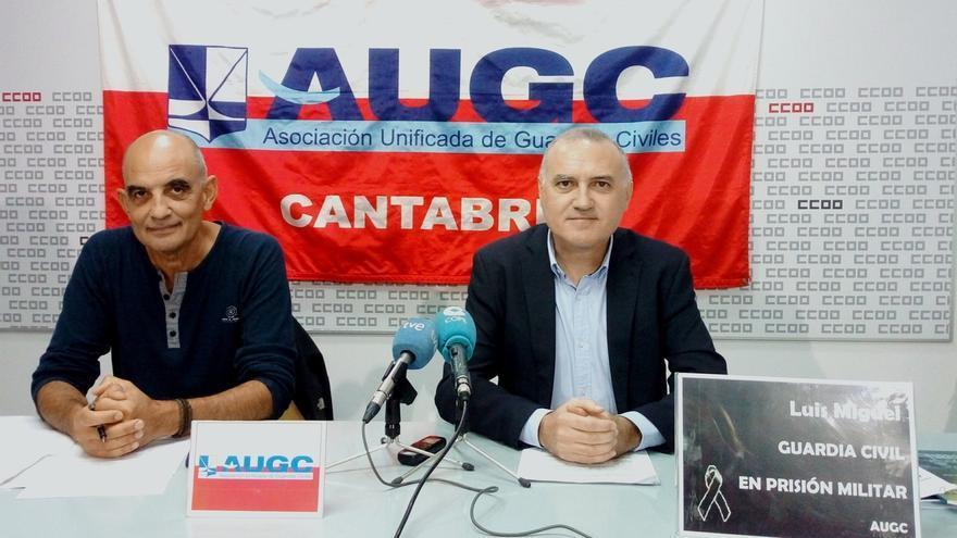 """AUGC vincula el """"déficit"""" de guardias civiles en Cantabria con el aumento de los delitos un 3,6% el primer trimestre"""