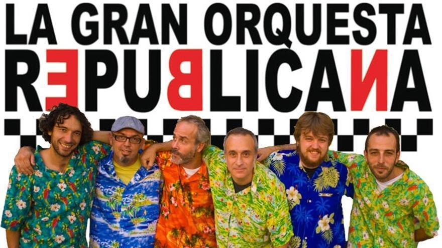 Integrantes de La Orquesta Republicana.