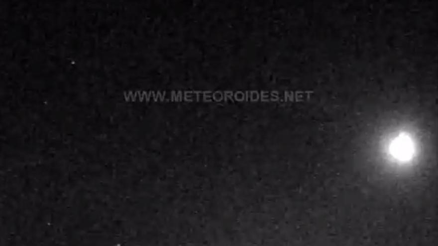 Captura del cometa desde el Observatorio de La Hita