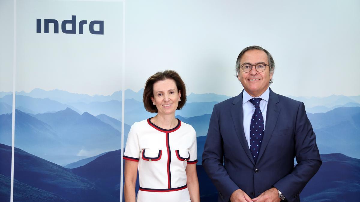 Cristina Ruiz e Ignacio Mataix, Consejeros Delegados de Indra.