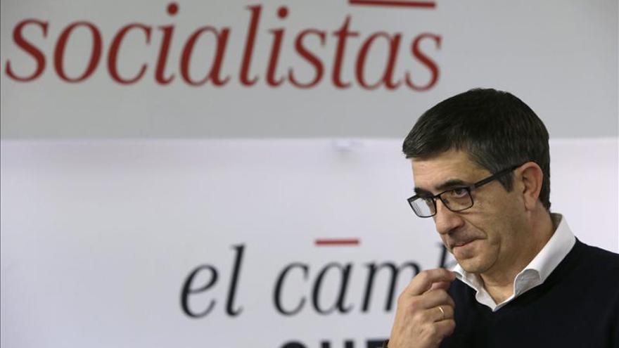 Patxi López defiende la unidad de los demócratas para enfrentarse al terror