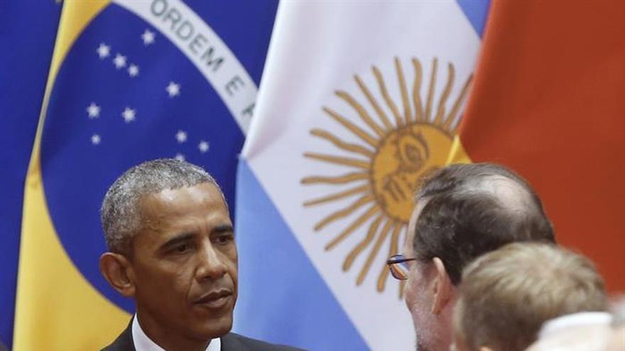 Rajoy y Obama se saludan y conversan al inicio de la cumbre del G20 en China