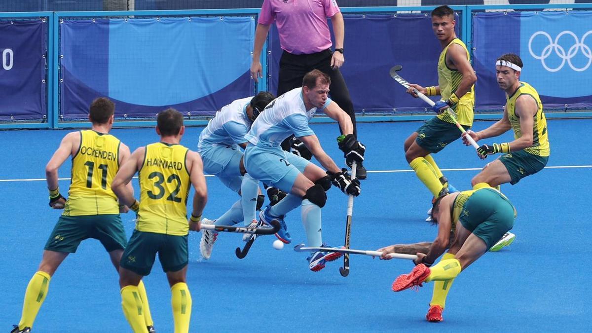Los Leones fueron superados por Australia.