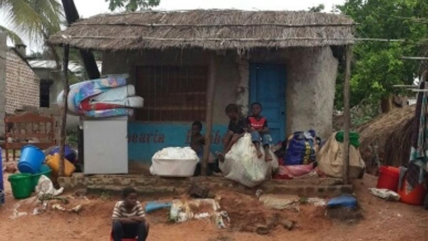 Miles de familias han perdido sus hogares en Mozambique y Malawi (ActionAid)