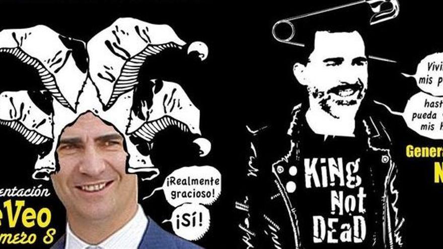Imagen que aparece en el cartel de la presentación del fancine