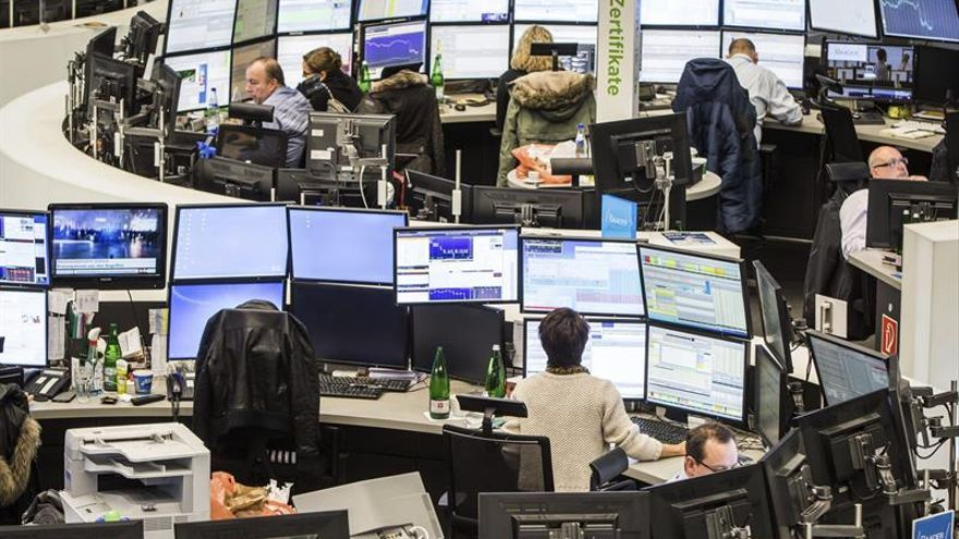 La Bolsa de Fráncfort sube un 1,04 por ciento
