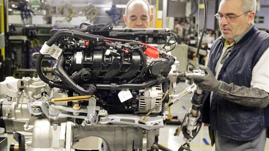 La producción industrial en España subió el 1,4% en 2014 tras 3 años de caída