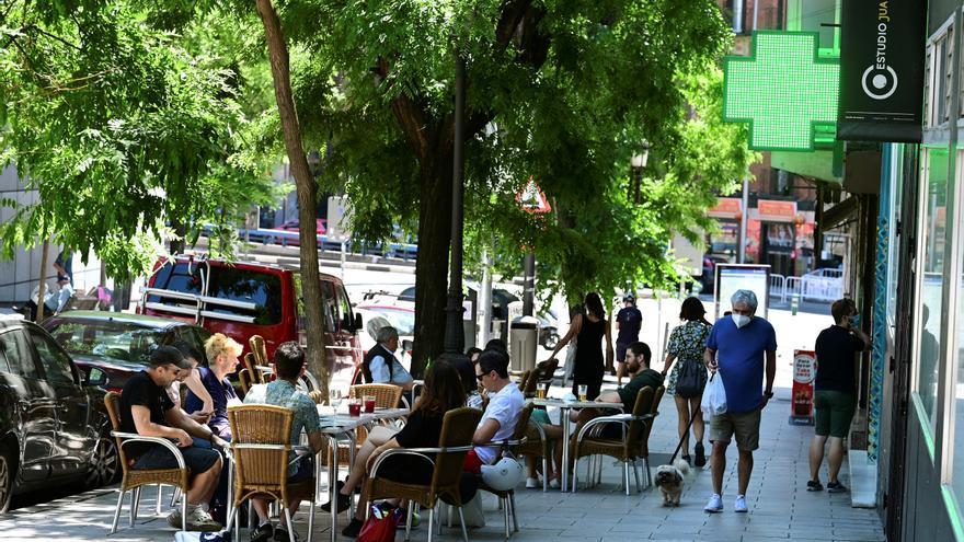 Madrid permite aforos del 75% y terrazas al 100% desde este lunes