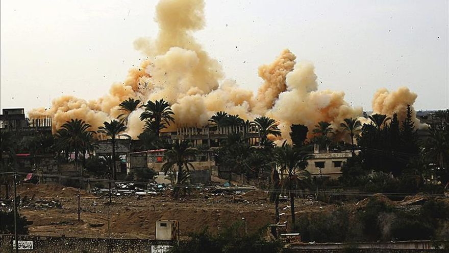Mueren diez civiles en el bombardeo de una casa en el norte del Sinaí egipcio