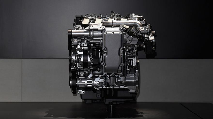 El motor SKYACTIV-X.