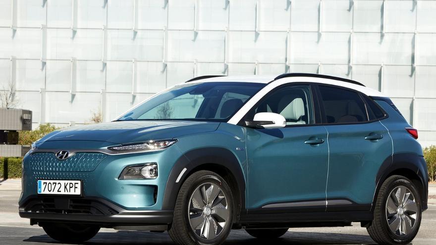 Hyundai Kona EV.