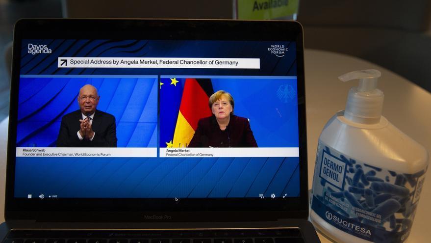 """Merkel sitúa en los """"valores"""" el límite de la cooperación económica con China"""