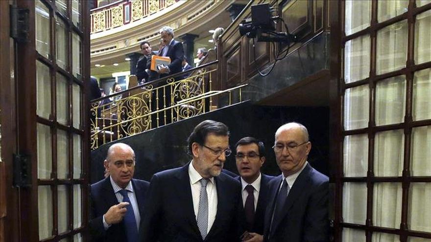 """Rajoy se va """"satisfecho"""" del debate y Sánchez dispuesto """"a trabajar"""""""