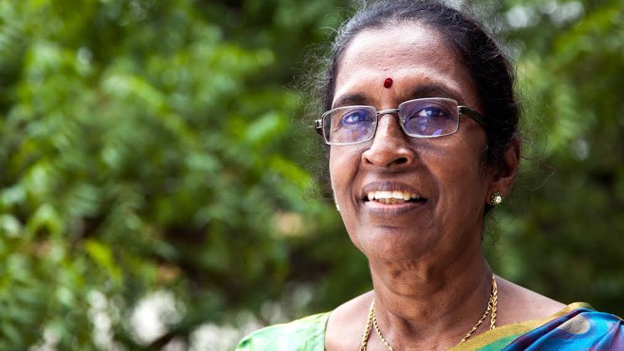 La directora del Sector de Mujeres de la Fundación Vicente Ferrer en la India, Doreen Reddy. | Imagen cedida a eldiario.es