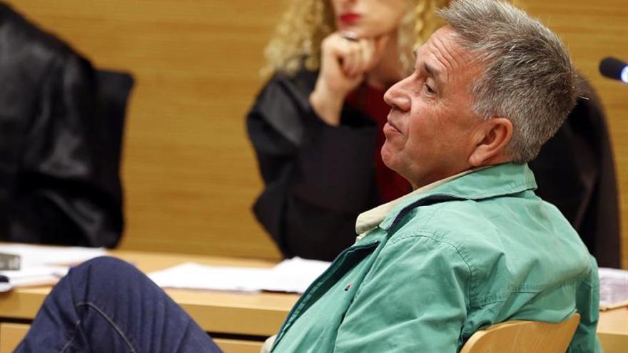 El padre del bebé fallecido, durante un momento del juicio.
