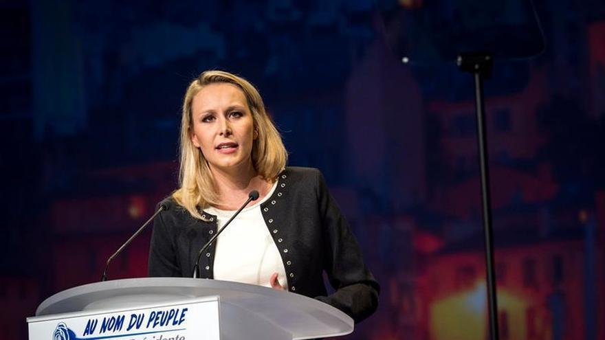 La sobrina de Le Pen, Marion Maréchal Le Pen, deja la política, según los medios