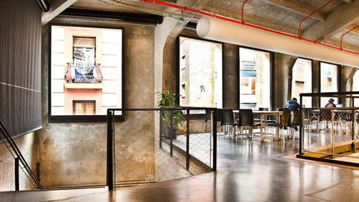 """Una de las plantas del edificio de Medialab Prado, en Madrid, que se convertirá en un centro de """"creación contemporánea""""."""