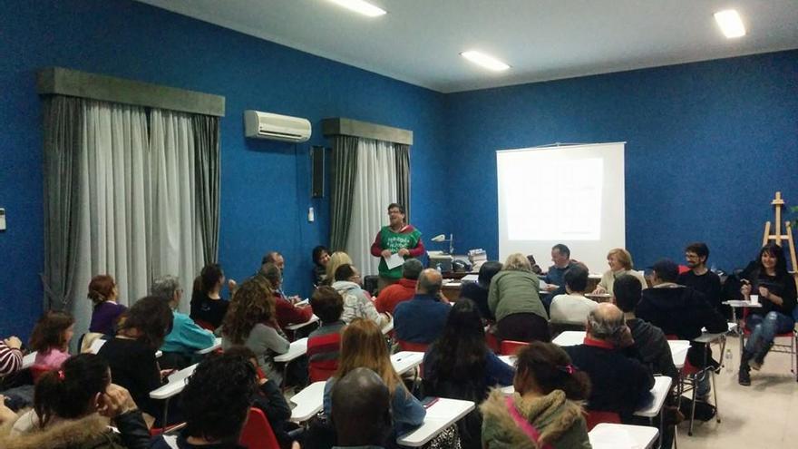 Asamblea en Manzanares.