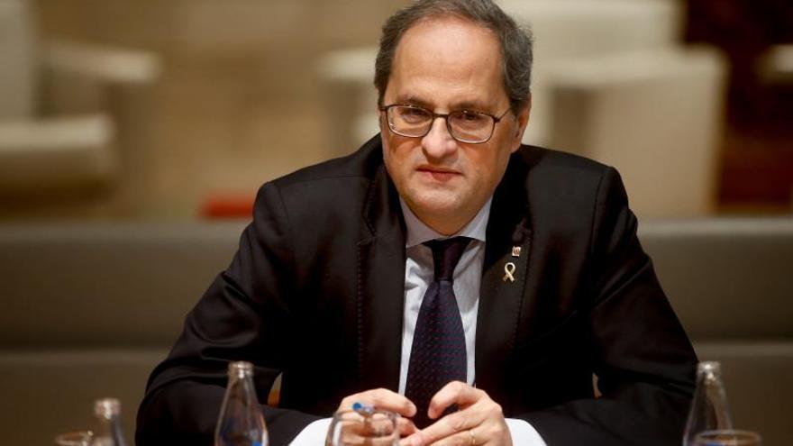 El Tribunal Superior de Justicia de Cataluña rechaza investigar la vinculación de Torra con Tsunami y los CDR