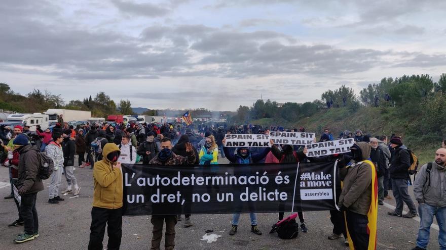 Tsunami Democràtic da por alcanzados los objetivos de las protestas en autopistas