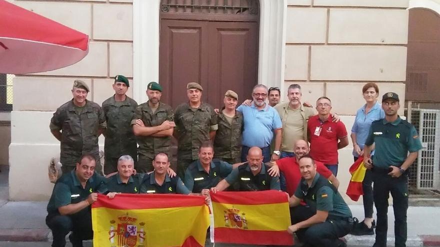 """UnionGC agracede """"a todos los que contribuyeron a llevar apoyo"""" a los guardias civiles cántabros en Cataluña"""