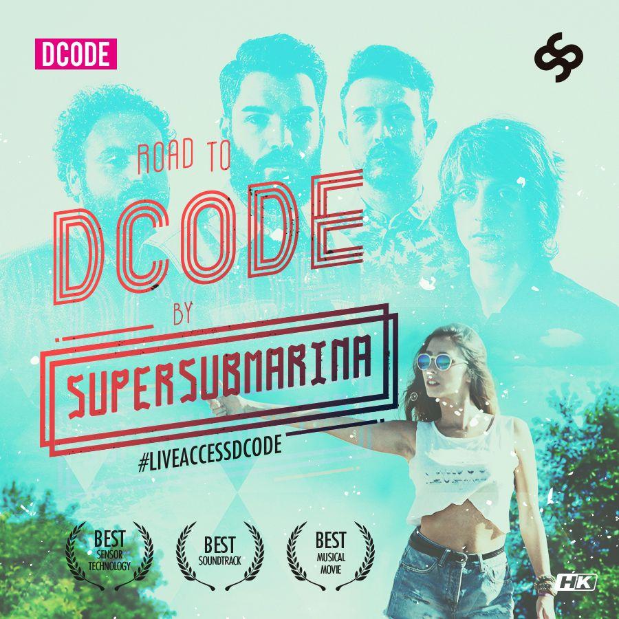 Cartel anunciador del corto 'Road to DCODE'