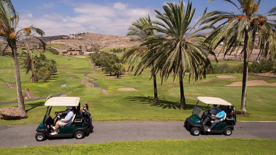 Las instalaciones del Salobre Golf donde se celebrará el torneo. (gruporalons).
