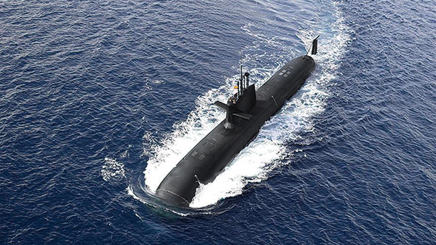 Prototipo del submarino S-80