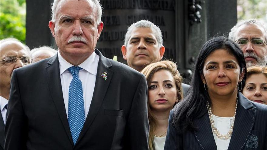 """El canciller palestino asegura que Venezuela es su """"aliado más importante"""""""