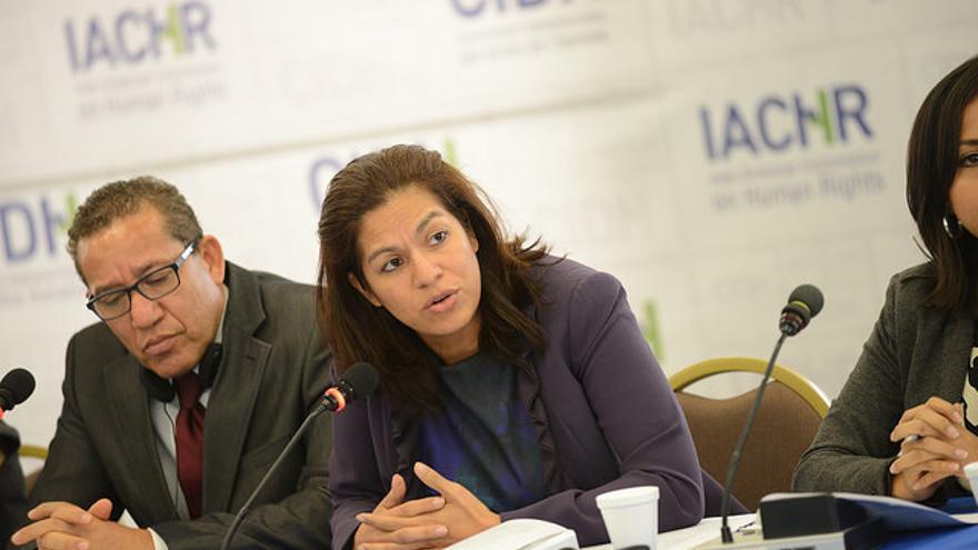 Marcia Aguiluz, Directora Programa Centroamérica y México de CEJIL. | Foto: Daniel CIMA / Corte Interamericana de Derechos Humanos