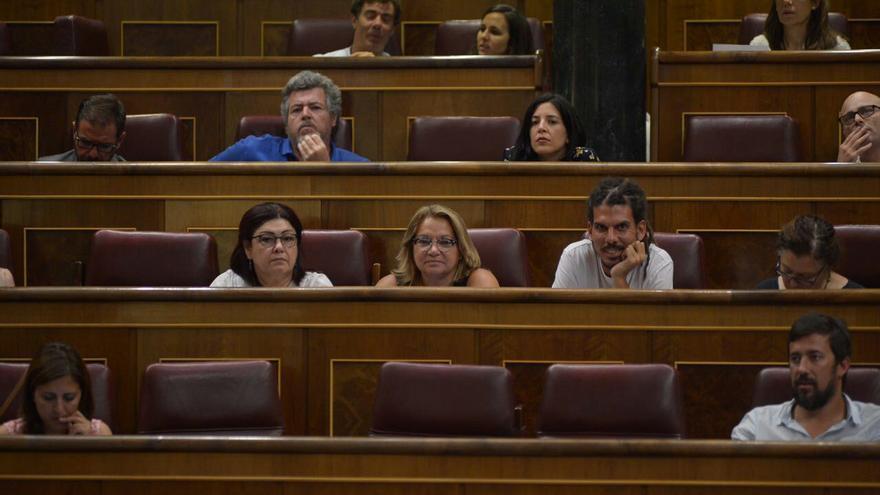 Los diputados canarios en el Congreso (Canarias Ahora)