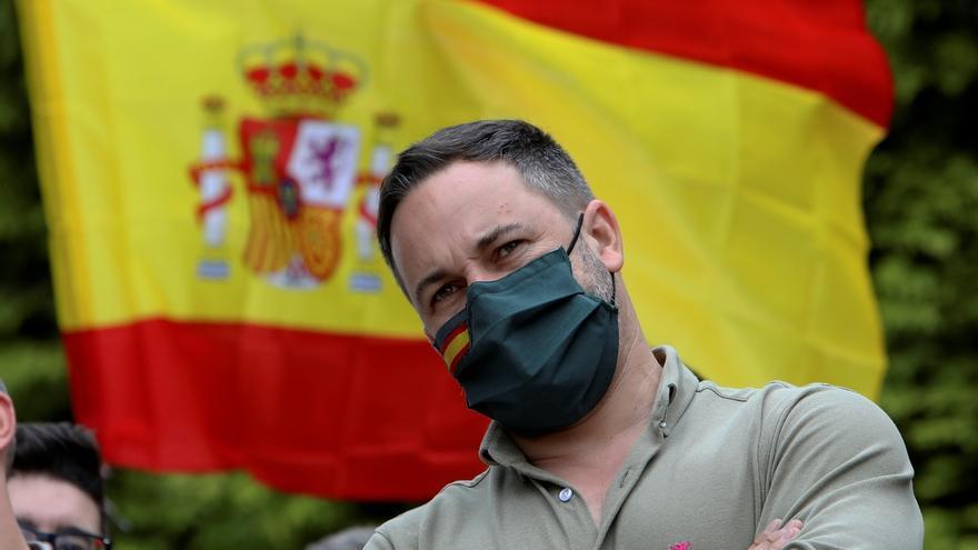 El presidente de Vox, Santiago Abascal.