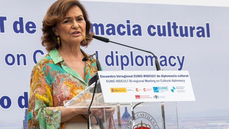 Calvo dice que la cultura es instrumento para la paz y la defensa de valores