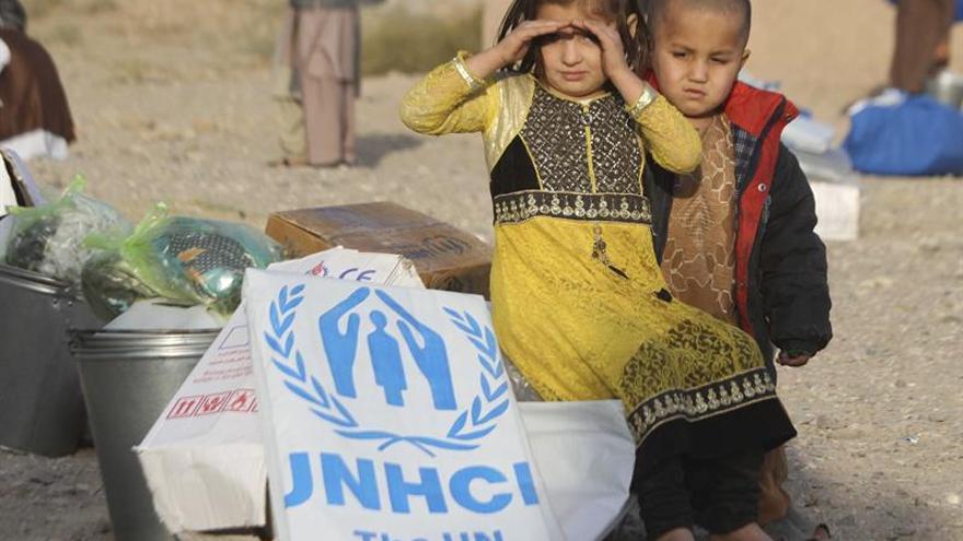 El número de desplazados internos marca un nuevo récord en Afganistán, según la ONU
