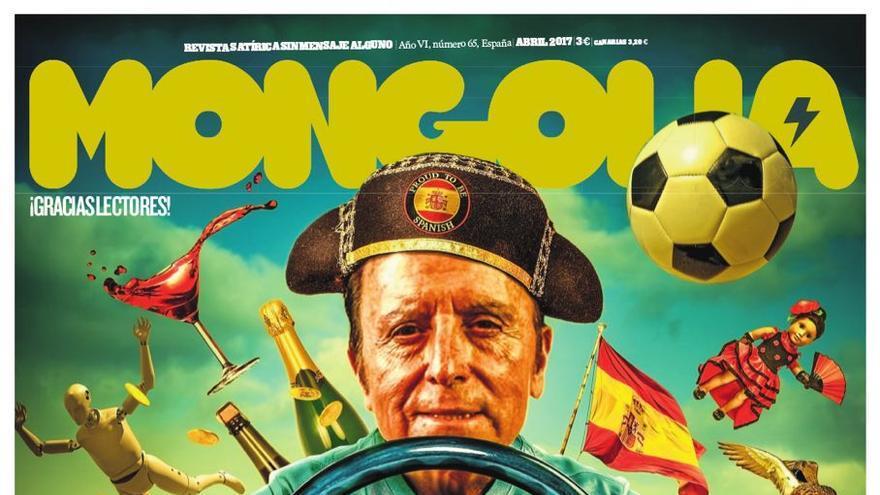 Nueva portada de la revista Mongolia.
