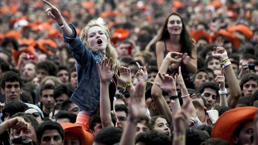 El acento español se oye cada vez más entre público de festival Optimus Alive