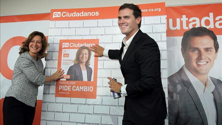 """Albert Rivera afirma solo C's garantiza el cambio y el """"rumbo"""" que necesita España"""