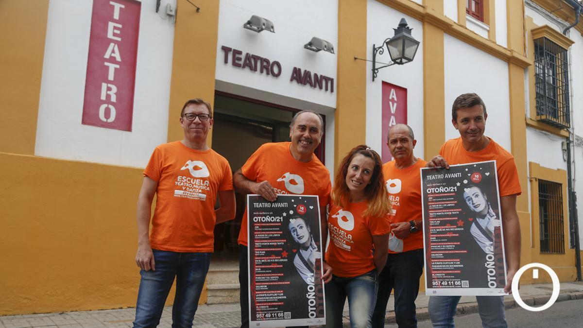 Presentación de la temporada de otoño en el Teatro Avanti