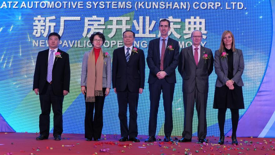 El Gobierno vasco inaugura la cuarta planta de Batz en China