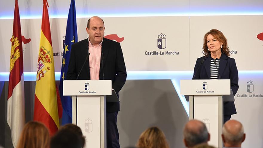 Braulio Carlés y Aurelia Sánchez. FOTO: JCCM