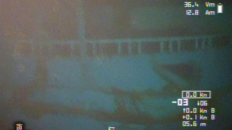 Imágenes de la embarcación que naufragó frente a las costas de Libia el pasado 18 de abril