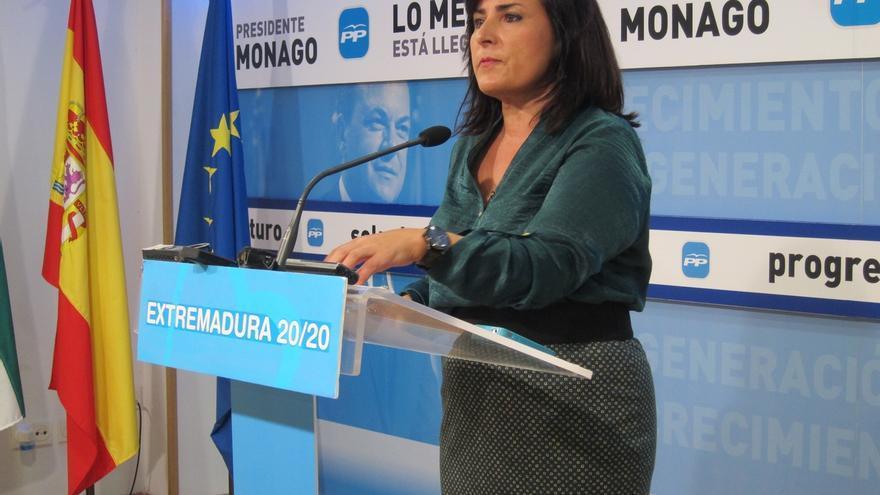 """El PP espera que los """"que han dudado"""" de Monago """"se vayan"""" cuando acredite que sus viajes """"eran de trabajo"""""""