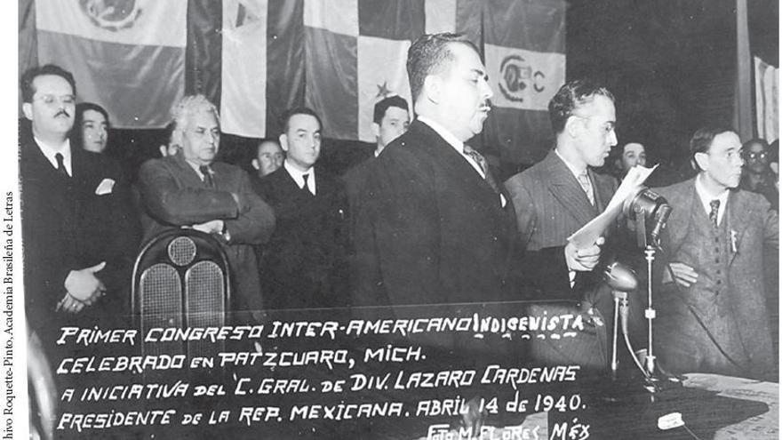 Primer congreso Indigenista interamericano en abril de 1940