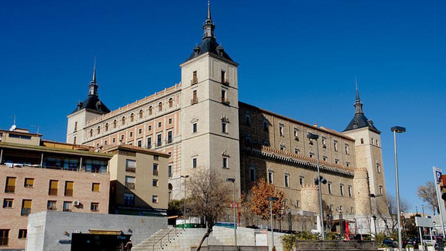 La Biblioteca de Castilla-La Mancha está ubicada en la última planta del Alcázar de Toledo