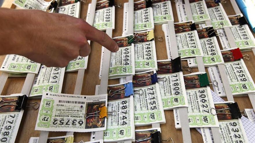 Las ventas de lotería crecen un 3,45 % y alcanzan los 2.672 millones de euros
