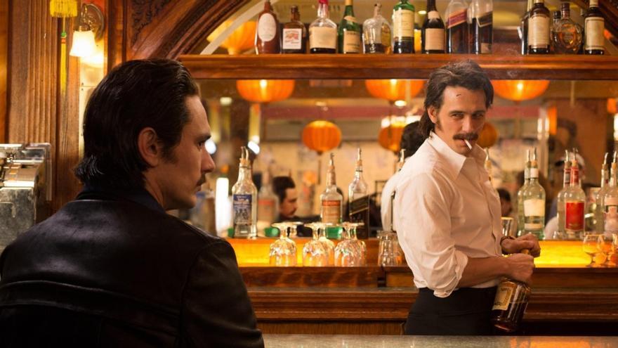 James Franco se apunta a la moda de interpretar a dos personajes en la misma serie: Vicent y Frankie Martino
