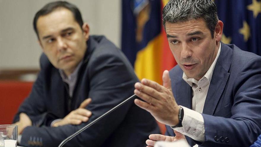 El consejero de Agricultura, Ganadería, Pesca y Aguas del Gobierno de Canarias, Narvay Quintero. EFE/ Cristóbal García
