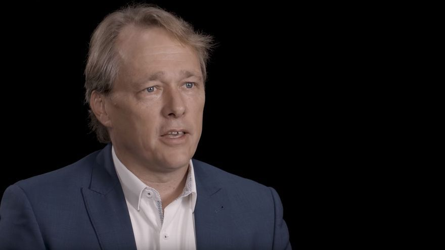 Bruce Linton, co-director ejecutivo de Canopy Growth.