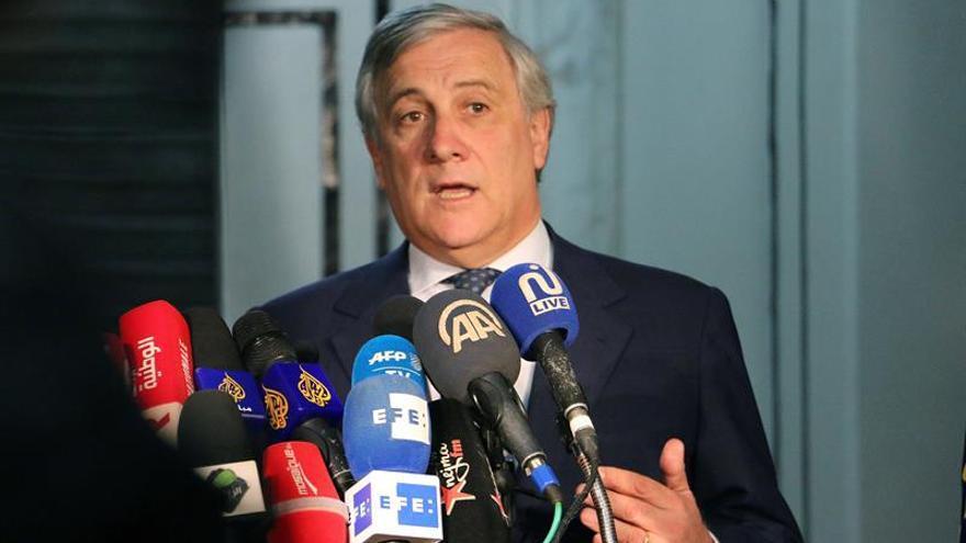 """Tajani rechaza que la UE medie en el conflicto catalán al ser un """"asunto interno"""""""