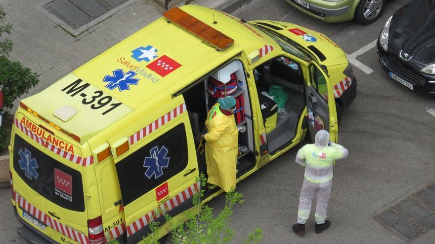 Las muertes en España ascienden a 5.690, 832 más en un día, y los contagiados a 72.248